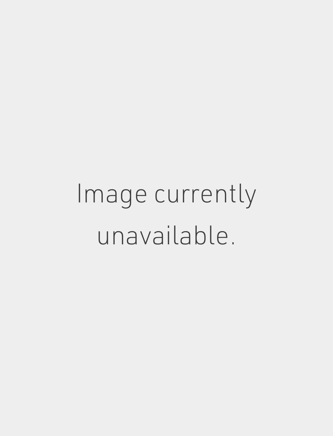 14k 25mm Flat Hoop Earring - WHITE GOLD Image #1